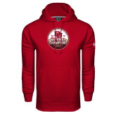 Under Armour Cardinal Performance Sweats Team Hood-2015 National Champions
