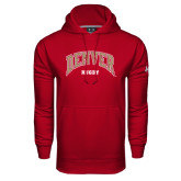 Under Armour Cardinal Performance Sweats Team Hoodie-Rugby