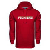 Under Armour Cardinal Performance Sweats Team Hoodie-Pioneers Two Tone