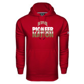 Under Armour Cardinal Performance Sweats Team Hood-Pioneer Nation