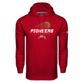 Under Armour Cardinal Performance Sweats Team Hood-Pioneers Lacrosse Modern