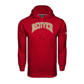 Under Armour Cardinal Performance Sweats Team Hoodie-Arched Denver 2 Color Version