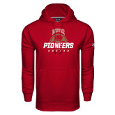 Under Armour Cardinal Performance Sweats Team Hoodie-Pioneers Soccer Half Ball