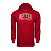 Under Armour Cardinal Performance Sweats Team Hood-Basketball