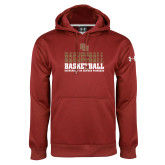 Under Armour Cardinal Performance Sweats Team Hoodie-DU Basketball