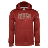 Under Armour Cardinal Performance Sweats Team Hoodie-JR Pioneers Hockey
