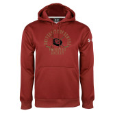 Under Armour Cardinal Performance Sweats Team Hoodie-Pioneers Hockey