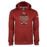 Under Armour Cardinal Performance Sweats Team Hoodie-Pioneer Pride Hockey