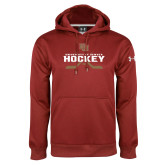 Under Armour Cardinal Performance Sweats Team Hoodie-University of Denver Hockey