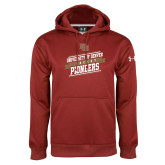 Under Armour Cardinal Performance Sweats Team Hoodie-University of Denver Pioneers Hockey