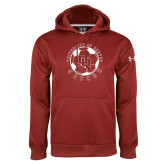 Under Armour Cardinal Performance Sweats Team Hoodie-DU Soccer