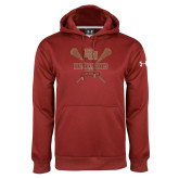 Under Armour Cardinal Performance Sweats Team Hoodie-Denver Pioneers Lacrosse