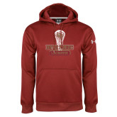 Under Armour Cardinal Performance Sweats Team Hoodie-DU Lacrosse