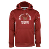 Under Armour Cardinal Performance Sweats Team Hoodie-Pioneers Lacrosse