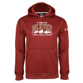 Under Armour Cardinal Performance Sweats Team Hoodie-Lacrosse Capital