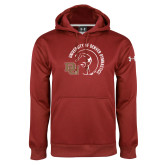 Under Armour Cardinal Performance Sweats Team Hoodie-DU Gymnastics