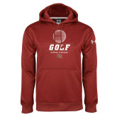 Under Armour Cardinal Performance Sweats Team Hoodie-Denver Golf