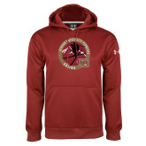 Under Armour Cardinal Performance Sweats Team Hoodie-DU Skiing