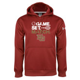 Under Armour Cardinal Performance Sweats Team Hoodie-Game Set Match