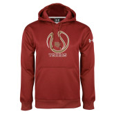 Under Armour Cardinal Performance Sweats Team Hoodie-DU Tennis