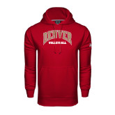 Under Armour Cardinal Performance Sweats Team Hoodie-Volleyball