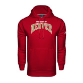 Under Armour Cardinal Performance Sweats Team Hoodie-Arched U of Denver 2 Color Version