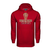 Under Armour Cardinal Performance Sweats Team Hood-Denver Pioneers Lacrosse Stick