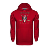Under Armour Cardinal Performance Sweats Team Hood-Denver Hockey w/Mask