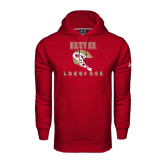 Under Armour Cardinal Performance Sweats Team Hood-Denver Lacrosse Helmet