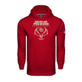 Under Armour Cardinal Performance Sweats Team Hood-Basketball Stacked