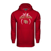 Under Armour Cardinal Performance Sweats Team Hoodie-Basketball in Ball