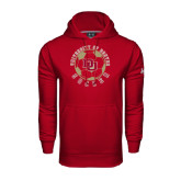 Under Armour Cardinal Performance Sweats Team Hood-Soccer Circle