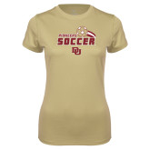 Ladies Syntrel Performance Vegas Gold Tee-Pioneers Soccer