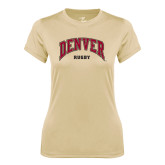 Ladies Syntrel Performance Vegas Gold Tee-Rugby