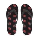 Ladies Full Color Flip Flops-DU