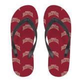 Full Color Flip Flops-University of Denver