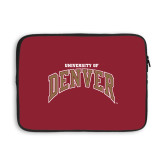 13 inch Neoprene Laptop Sleeve-University of Denver