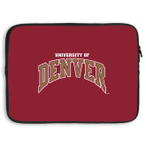 15 inch Neoprene Laptop Sleeve-University of Denver