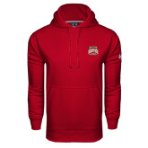 Under Armour Cardinal Performance Sweats Team Hood-Pioneer Movement