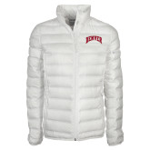 Columbia Mighty LITE Ladies White Jacket-Arched Denver 2 Color Version