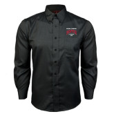 Red House Black Long Sleeve Shirt-National Champions 2015 Lacrosse