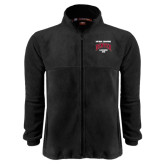 Fleece Full Zip Black Jacket-National Champions 2015 Lacrosse