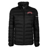 Columbia Mighty LITE Ladies Black Jacket-Arched Denver 2 Color Version