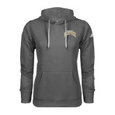 Adidas Climawarm Charcoal Team Issue Hoodie-Arched U of Denver 2 Color Version