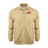 Colorblock Vegas Gold/White Wind Jacket-Arched U of Denver 2 Color Version