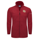 Columbia Full Zip Cardinal Fleece Jacket-DU