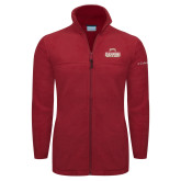 Columbia Full Zip Cardinal Fleece Jacket-2017 NCAA Division I Mens Hockey Champions