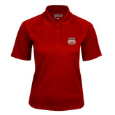 Ladies Cardinal Textured Saddle Shoulder Polo-Pioneer Movement