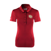 Ladies Under Armour Cardinal Performance Polo-DU