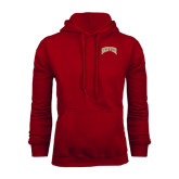 Cardinal Fleece Hood-Arched Denver 2 Color Version